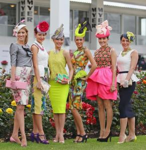 during the 2012 Melbourne Cup Carnival Myer Fashions On The Field Enclosure Launch at Flemington Racecourse on November 1, 2012 in Melbourne, Australia.